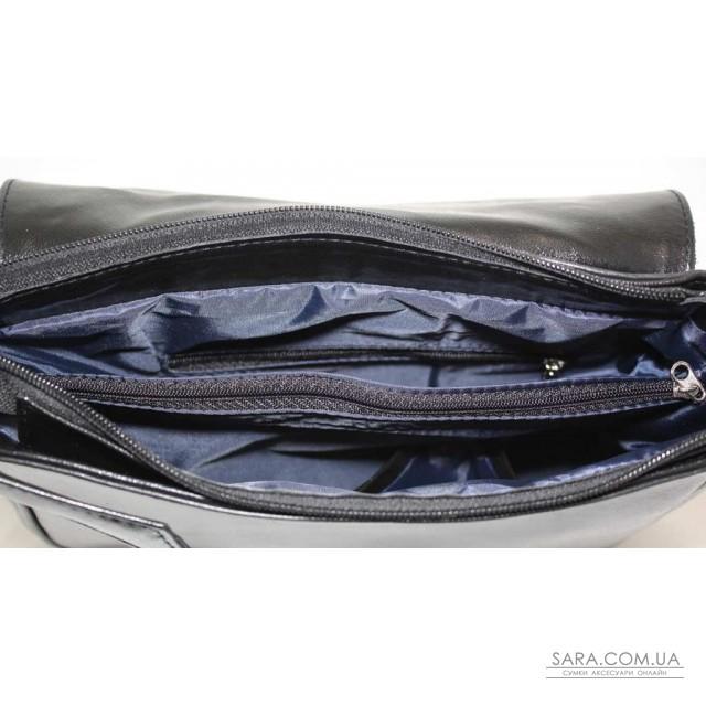 Купити 179 сумка замшева чорна Lucherino дешево. Україна