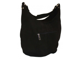 383 сумка замш чорний Lucherino