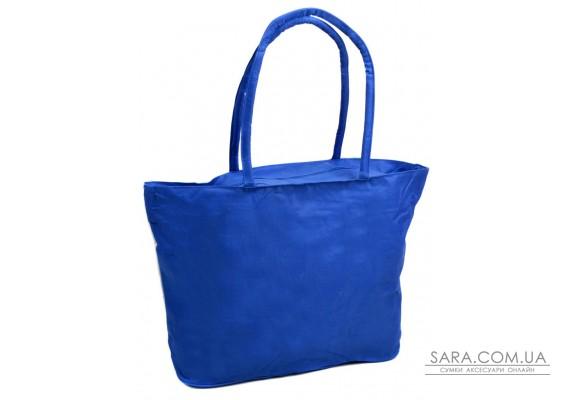 Сумка Жіноча Пляжна текстиль Podium /1350 blue Podium