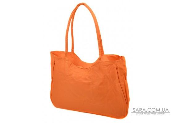 Сумка Жіноча Пляжна текстиль Podium /1330 orange Podium