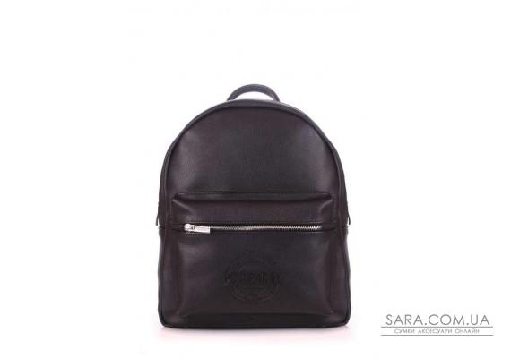Рюкзак жіночий шкіряний POOLPARTY Xs (pool-xs-bckpck-leather-black)