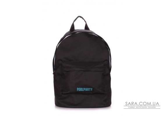 Рюкзак молодіжний POOLPARTY (pool-eco-backpack-black)