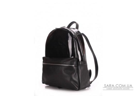 Рюкзак жіночий шкіряний POOLPARTY Mini (pool-mini-bckpck-transparent-black)
