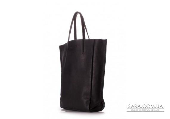 Шкіряна сумка POOLPARTY BigSoho (pool-poolparty-bigsoho-black)