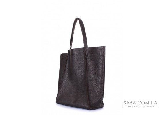Шкіряна сумка POOLPARTY Edge (pool-poolparty-edge-brown)