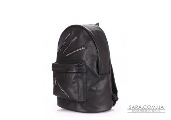 Шкіряний рюкзак POOLPARTY Rockstar