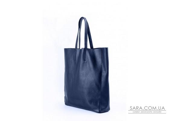 Шкіряна сумка POOLPARTY City (pool-city-darkblue)