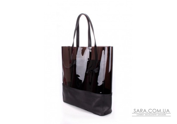 Шкіряна сумка POOLPARTY City (pool-city-carrie-black)
