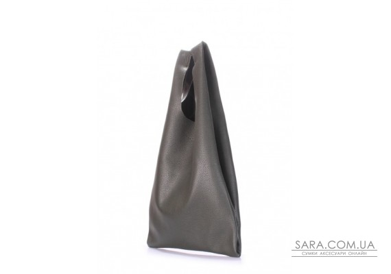 Шкіряна сумка POOLPARTY Tote (pool-leather-tote-khaki)