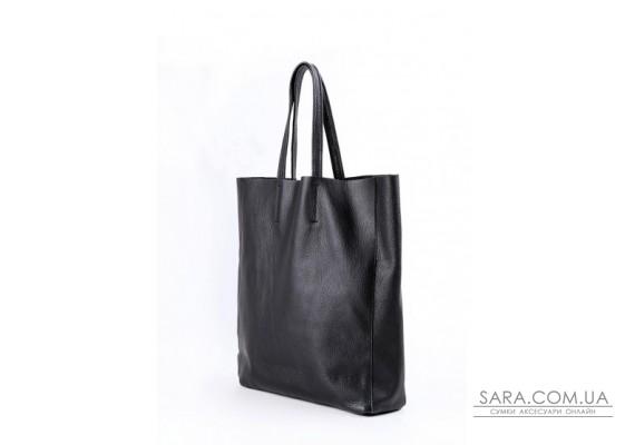 Шкіряна сумка POOLPARTY City (pool-city-black)