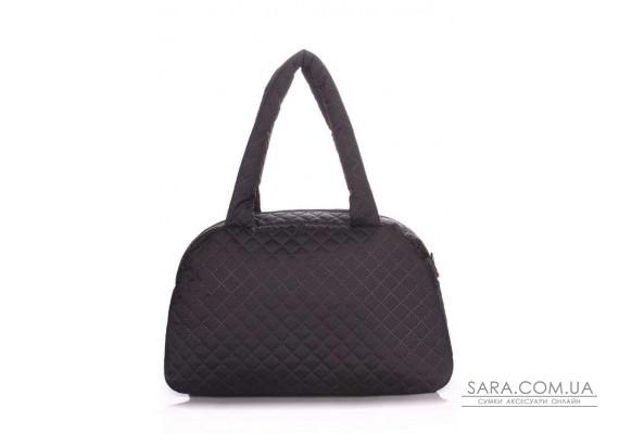 Стьобана сумка-саквояж POOLPARTY (pool-ns4-eco-black)