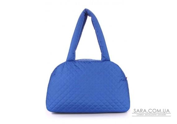Стьобана сумка-саквояж POOLPARTY (pool-ns4-eco-brightblue)