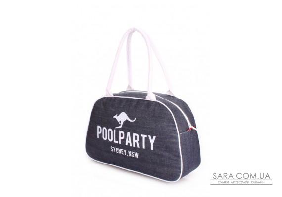 Джинсова сумка-саквояж POOLPARTY