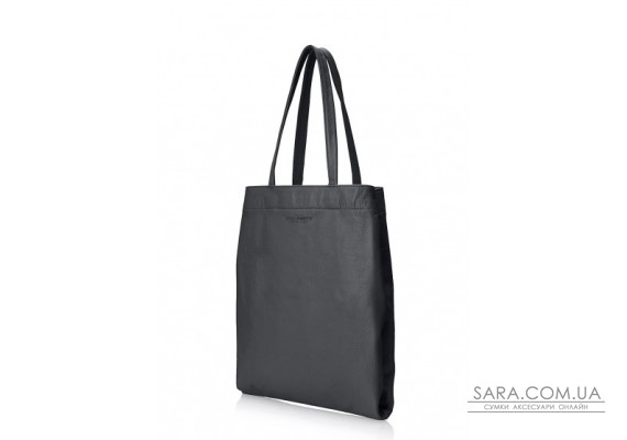Шкіряна сумка POOLPARTY Daily Tote (pool-daily-tote-black)
