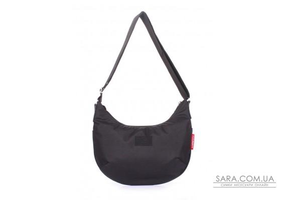 Жіноча сумка з ременем на плече POOLPARTY (pool-pool-92-oford-black)