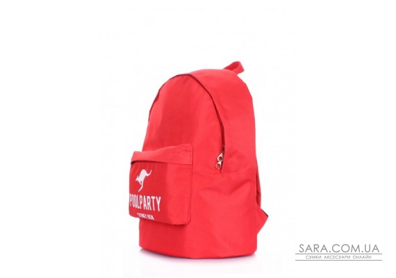 Рюкзак молодіжний POOLPARTY (pool-backpack-oxford-red)