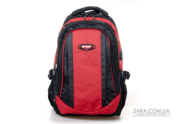Рюкзак Міський нейлон Power In Eavas 9063 red