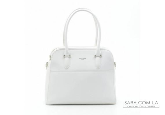 Жіноча сумка David Jones 6221-3T white