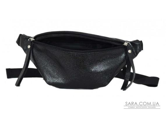 595 поясная сумка черная икра Lucherino