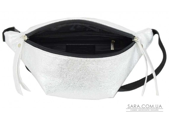 595 поясная сумка серебро Lucherino