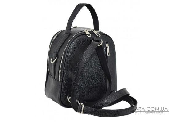 643 рюкзак ікра чорна Lucherino