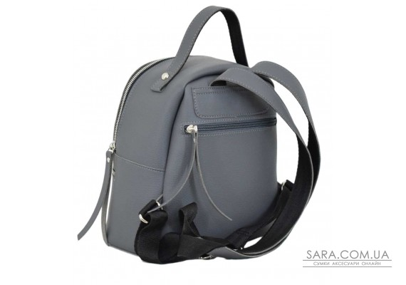 653 рюкзак сірий Lucherino