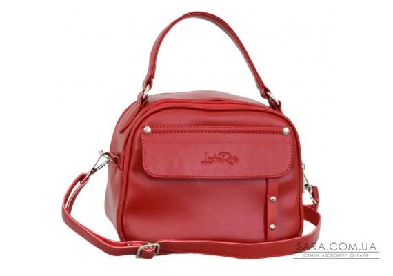 654 сумка червона Lucherino