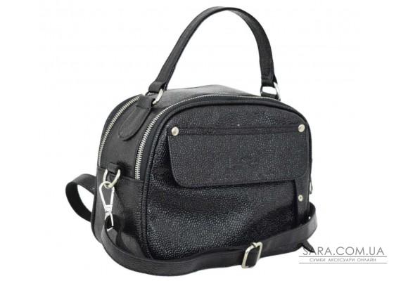 654 сумка чорна Lucherino