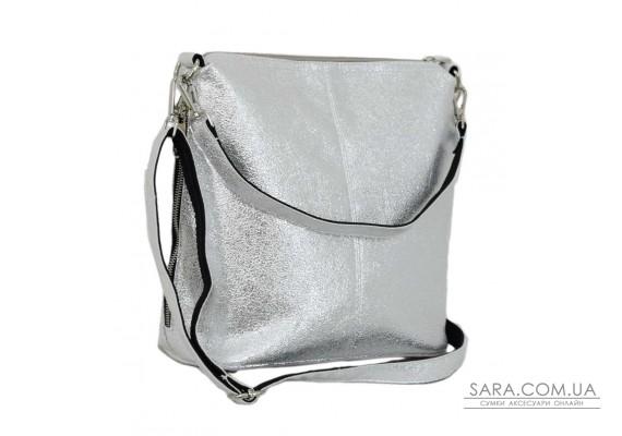 322 сумка срібло світле Lucherino