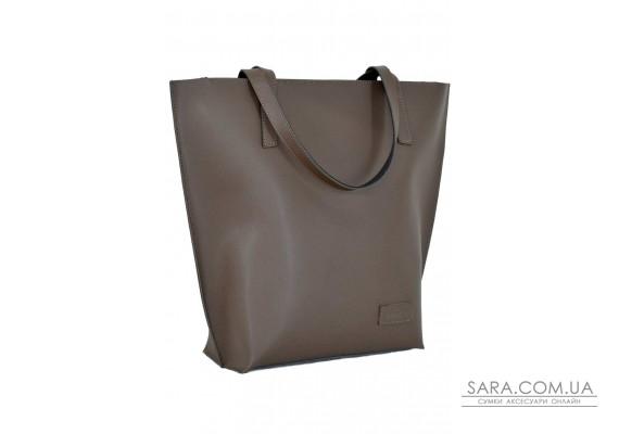 641 сумка шкіра шоколад Lucherino