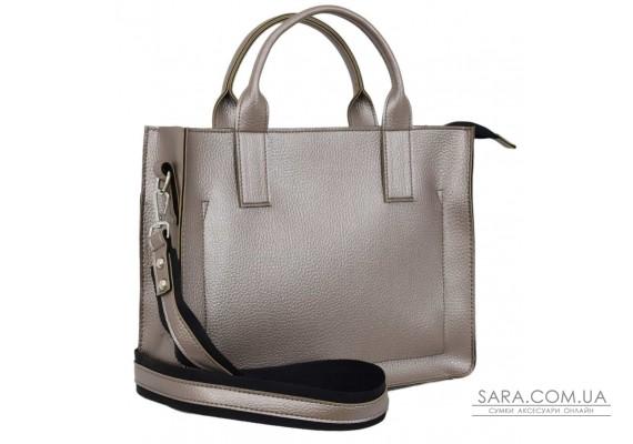651 сумка срібна бронза Lucherino
