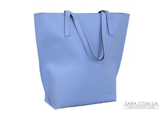 641 сумка голубая Lucherino