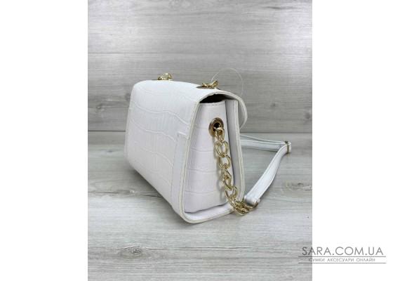 Жіноча сумка «Бэсс» біла WeLassie