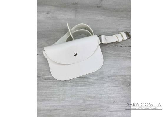 Жіноча сумка Kim біла WeLassie
