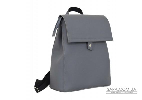 608 рюкзак сірий Lucherino