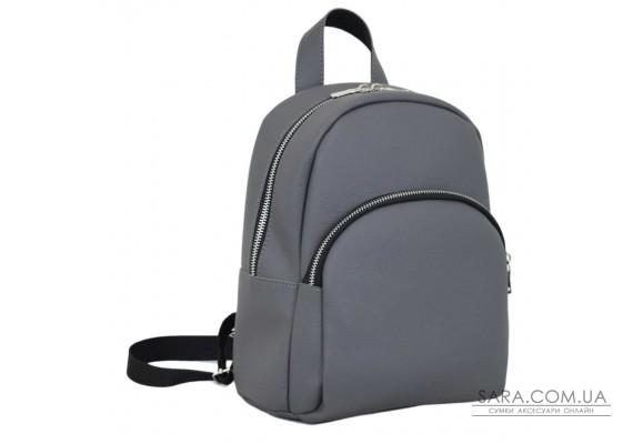652 рюкзак сірий Lucherino