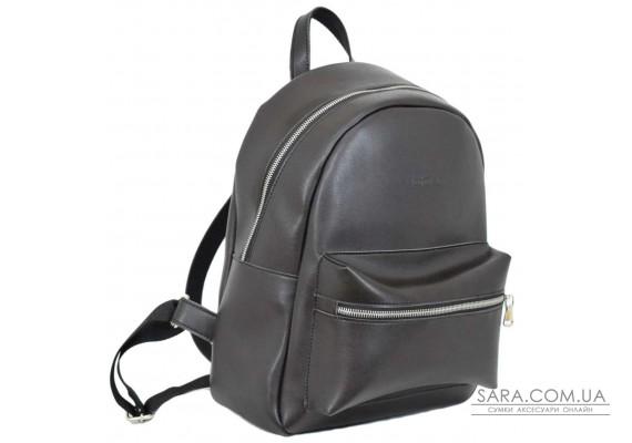 655 рюкзак чорний шоколад Lucherino