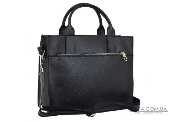651 сумка чорна Lucherino