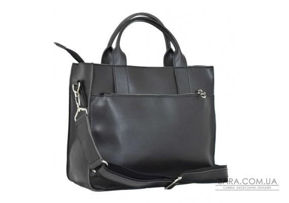 651 сумка чорний шоколад Lucherino