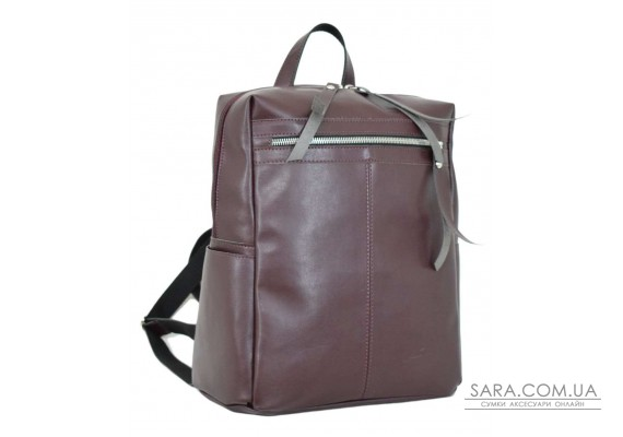 656 сумка-рюкзак бордо Lucherino