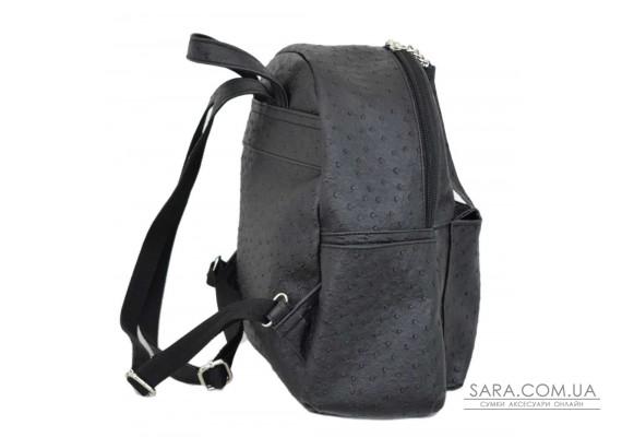 450 рюкзак чорна страус Lucherino
