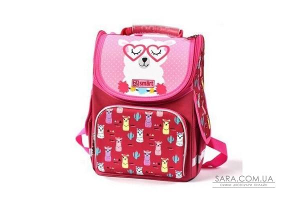 Рюкзак шкільний каркасний SMART PG-11 Lama 558055