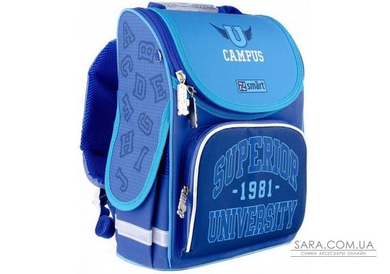 Рюкзак шкільний каркасний SMART PG-11 Campus 558072