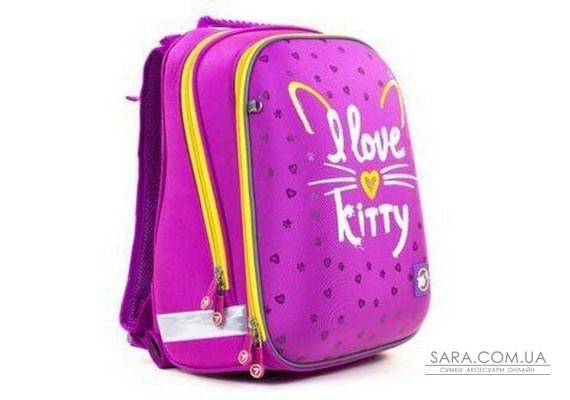Шкільний рюкзак YES H -12 I love kitty 558014