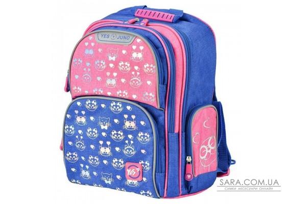Школьный рюкзак YES S-30 Juno Meow 558010