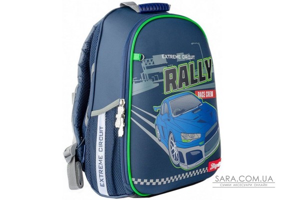 Рюкзак шкільний каркасний 1вересня Н-27 Rally 558218