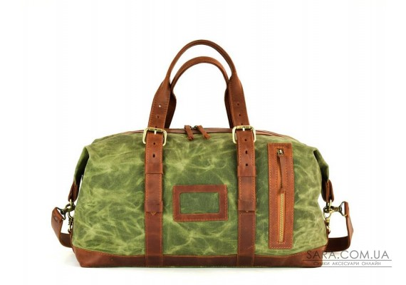 Сумка дорожня Crazy Horse/Canvas  Cognac 703065/02 Babak