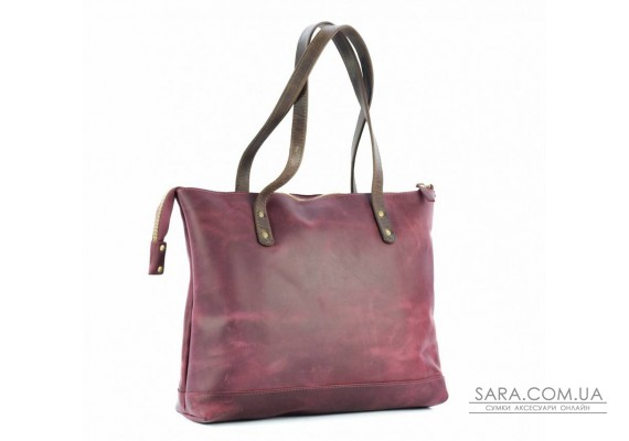 Сумка кожаная Lady Boss Marsala/Brown 860066/51 Babak