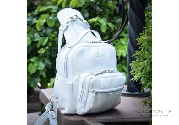 Рюкзак шкіряний 939 White 939097 Babak