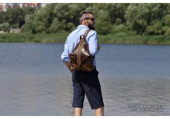 Рюкзак кожаный Denver OlNt 910090/83 Babak
